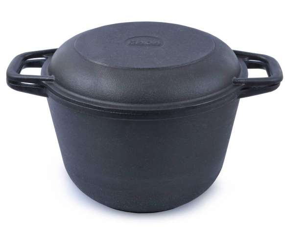 """Кастрюля """"Катюша"""" со крышкой сковородой (5,0 л)"""