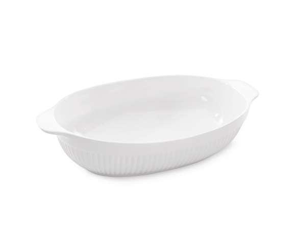 Блюдо для запекания овальное 35,5*22,5*8,5см Bianco