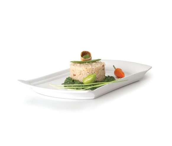 Блюдо прямоугольное сервировочное 400*216 мм Concavo