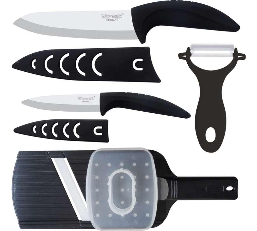 Набор керамических ножей Winner WR-7314