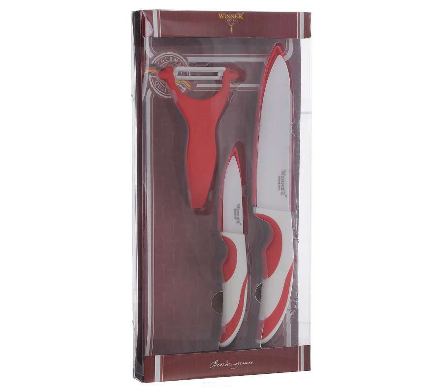 Набор керамических ножей Winner WR-7344