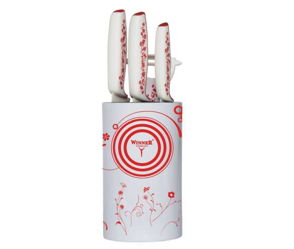 Набор керамических ножей Winner WR-7346