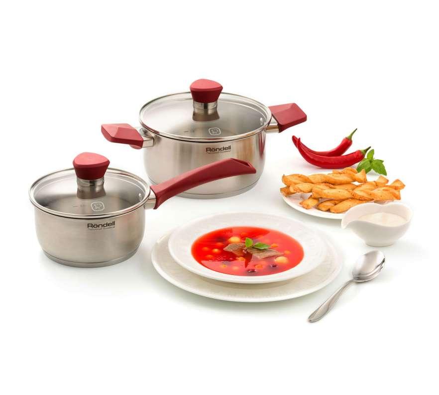 Набор посуды Röndell RDS-818