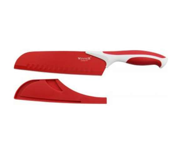 Нож сантоку в ножнах Winner WR-7220