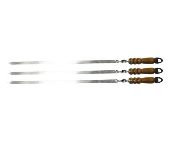 Шампур с деревянной ручкой Kukmara (80 см)